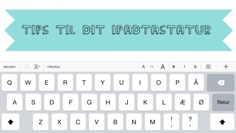 shift knap på apple tastatur